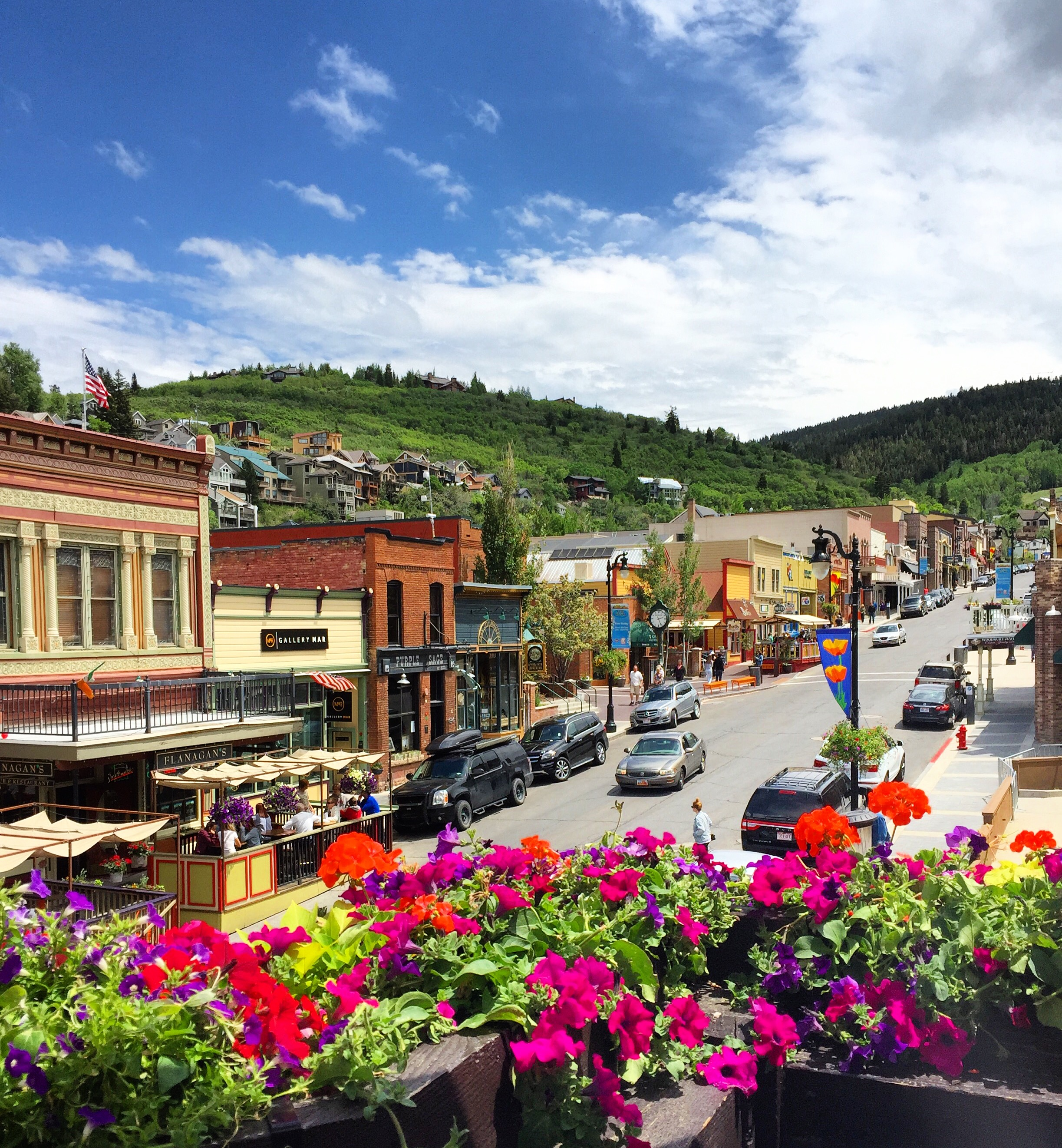 Main St summer pic